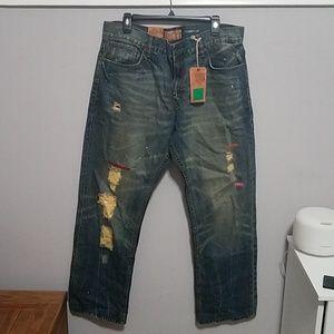 "R Plus Creation - Men Jeans ""914"" Jean (Rocawear)"